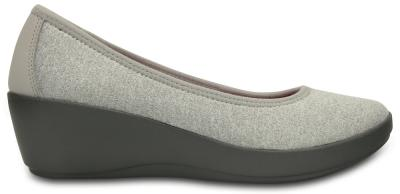 CROCS BUSY DAY HEATHERED B. WEDGE 202856