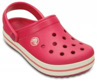 Crocband Kids Raspberry / White