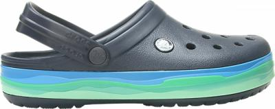 Crocband™ Wavy Band Clog
