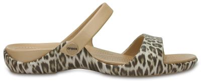 Womens Cleo V Graphic Sandal