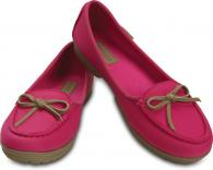Womens Wrap ColorLite™ Ballet Flat Candy Pink / Tumbleweed