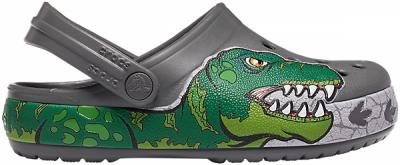 Crocs Fl Dino Band Lights Clog Kids